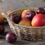 szilva és alma