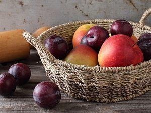 alma és szilva