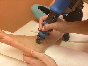 részleges bokaszalag szakadás kezelése lökéshullámmal
