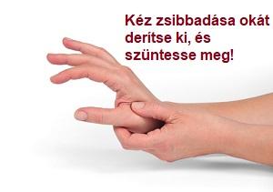 zsibbadás és fájó kéz a dohányzástól